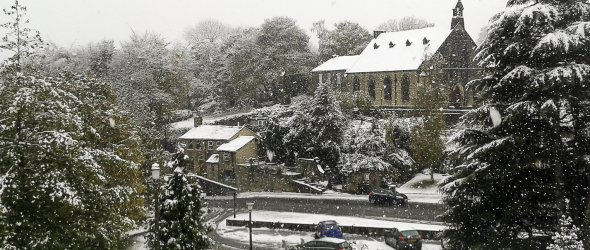 Baildon in the snow