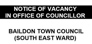 Council Vacancy in the South East Ward