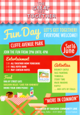 Family Fun Day at Cliffe Avenue Park 16 June 2018