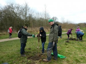 First Tree Planting Event held by Tree Planting Partnership